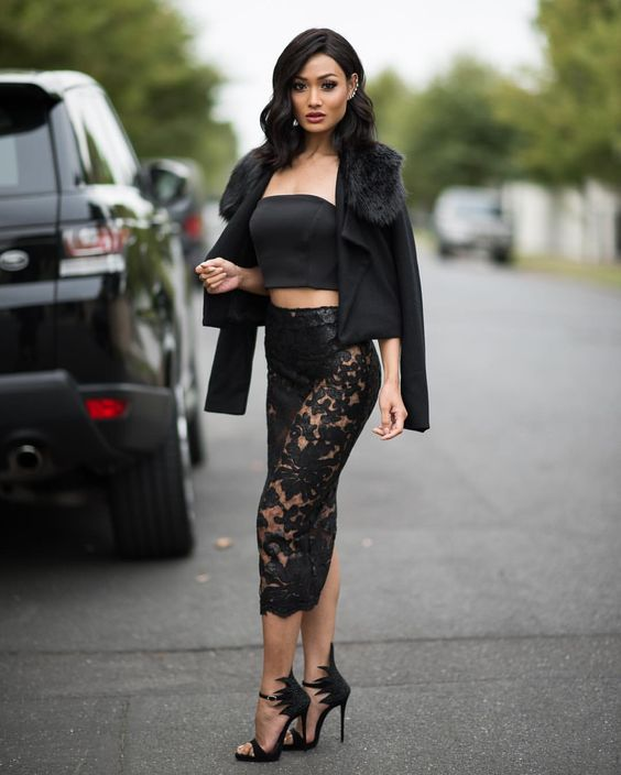 8af63de91dea Simplicity Is The Key. Totally Black Outfit Ideas » Candice Nikeia ...